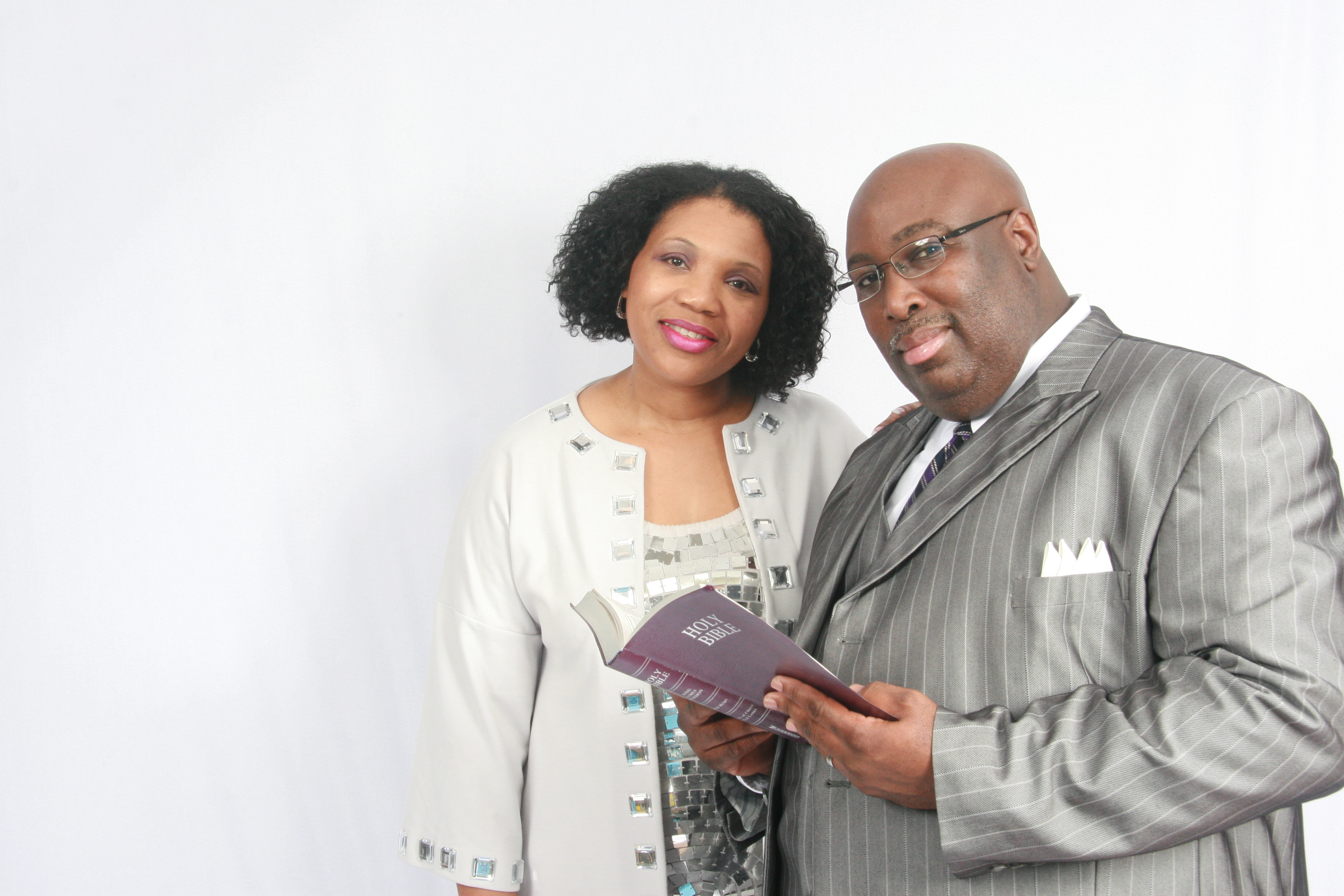 pic of Bishop Bj Brown and Wife